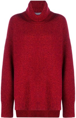 N.Peal Chunky Roll Neck Cashmere Jumper