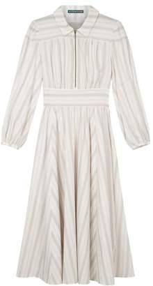 ALEXACHUNG Alexa Chung - Cream Cotton Daphne Dress - 6 - Natural