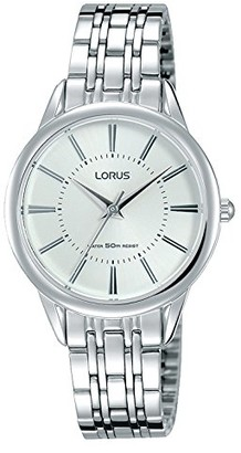 Lorus Womens Analogue Quartz Watch with Stainless Steel Strap RG205NX9