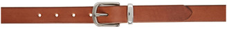 Maximum Henry Brown Slim Standard Solid Keeper Belt
