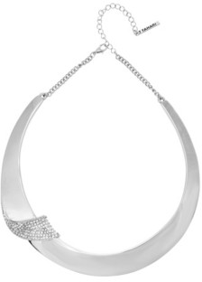 T Tahari Wrapped in Ribbons Collar Necklace