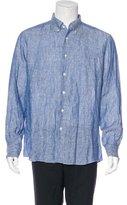 Ermenegildo Zegna Linen Button-Up Shirt