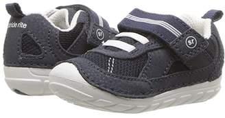 Stride Rite SM Jamie (Infant/Toddler) (Navy/White) Boy's Shoes