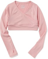 Old Navy Fitted Wrap-Front Shrug for Girls