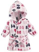 Hudson Baby BabyVision Pink Bows Bathrobe