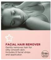 Superdrug Facial Hair Remover Strips x6