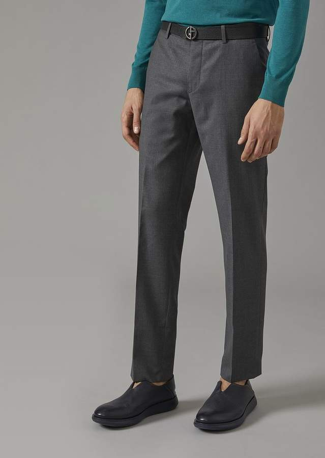 Giorgio Armani Virgin Wool Trousers