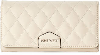 Nine West Milk Isabell Continental Wallet