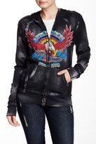 Affliction AC Eagle Clutch Long Sleeve Zip Hoodie