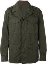 Fay button-up field jacket - men - Cotton - XL