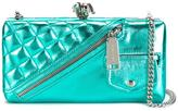 DSQUARED2 Babe Wire clutch - women - Lamb Skin - One Size