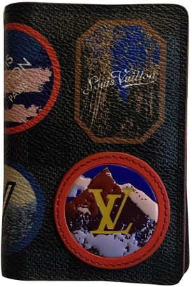 Louis Vuitton Pocket Organizer Multicolour Cloth Small bags, wallets & cases