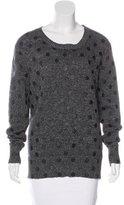 Markus Lupfer Polka Dot Long Sleeve Sweater