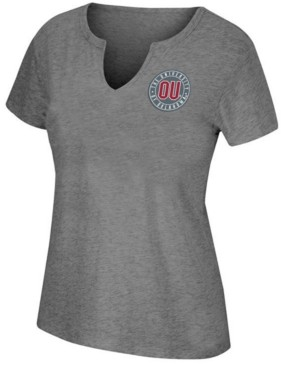 Top of the World Women's Oklahoma Sooners Notch Neck T-Shirt