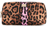 Dolce & Gabbana leopard print make-up bag - women - Polyamide - One Size