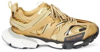 Balenciaga Metallic Track Sneakers