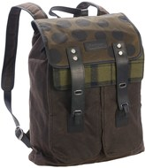 Barbour Solent Wax Cotton Backpack (For Women)