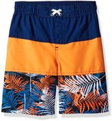 "iXtreme Little Boys' ""Hibiscus Trail"" Boardshorts"