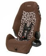 Cosco Highback Booster Car Seat, Quigley by