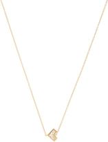 AZLEE Cosmic diamond & yellow-gold necklace