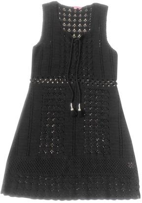 Calypso St. Barth Black Cotton Dress for Women