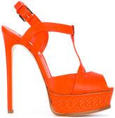 Casadei platform sandals - women - Calf Leather/Leather - 35