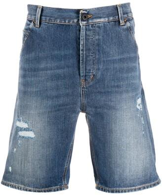Dondup Distressed Denim Shorts