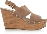 MICHAEL Michael Kors Carina suede wedge sandals