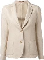 Eleventy two-button blazer - women - Silk/Cashmere - 44