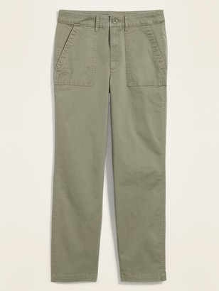 Old Navy High-Waisted Utility Ankle Chino Pants for Women