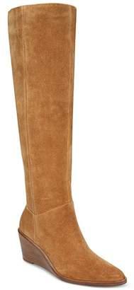 Vince Women's Marlow Over-the-Knee Wedge Heel Boots