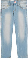 Billieblush LIGHT-WASH JEANS-BLUE SIZE 5