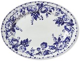 Williams-Sonoma Williams Sonoma French Blue Bouquet Platter, Floral