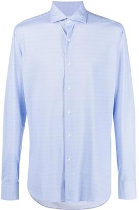 Orian Spread Collar Long Sleeved Shirt