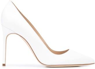 Manolo Blahnik BB pointed high heel pumps