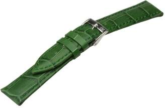 Morellato Leather Strap for Unisex Bolle Green 12mm A01X2269480075CR12