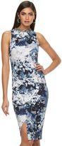JLO by Jennifer Lopez Petite Embellished Sheath Midi Dress