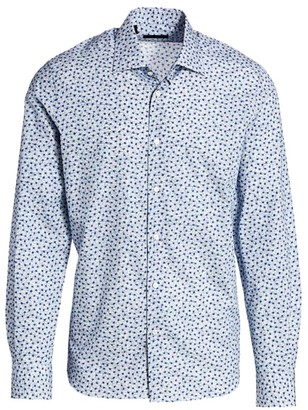 Saks Fifth Avenue COLLECTION Mini Floral Print Shirt