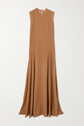 MATIN Cotton-voile Maxi Dress - Tan