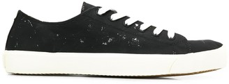 Maison Margiela paint splattered Tabi sneakers