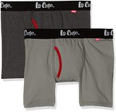 Lee Cooper Men's 2 Pk Harwich Boxer Shorts,pack of 2