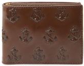 Jack Spade Embossed Anchor Bifold Wallet