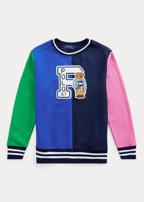 Ralph Lauren Preppy Bear Cotton Sweatshirt