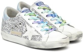 Golden Goose Exclusive to Mytheresa Superstar glitter sneakers