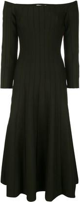 Casasola Off Shoulder Flared Dress