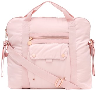 Stella McCartney Kids Baby changing bag with mat