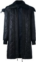 Sacai quilted oversized parka
