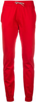 Moncler Gamme Rouge drawstring trousers - women - Cotton - 40