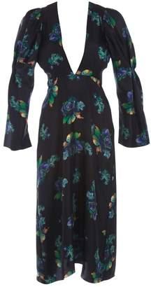 Lake Studio Black Silk Dress for Women