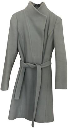 Reiss Green Wool Coat for Women